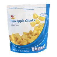 Ahold Pineapple Chunks Unsweetened Natural