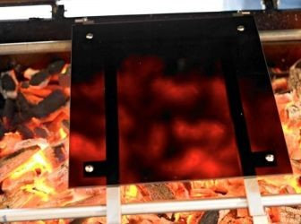 Broilmaster Independence Ceramic Glass IR Panel for Charcoal Grill