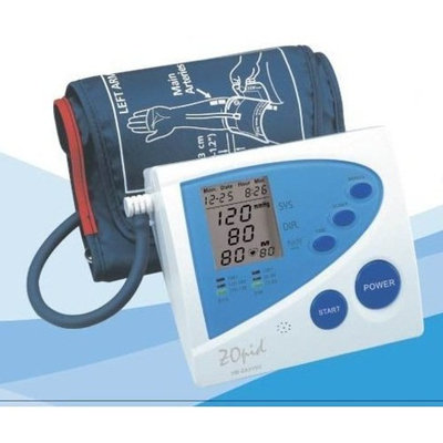 ZOpid - Automatic Digital Blood Pressure Monitor for Arm - Announces Measured Values