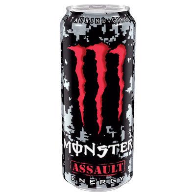 Monster Assault Energy Drink