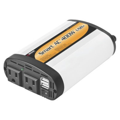 Wagan 400-watt Inverter with 5V 2.1-amp USB