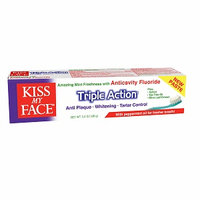 Kiss My Face Triple Action Anticavity Fluoride Toothpaste