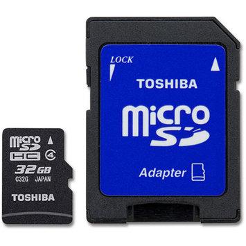 Toshiba Retail Hard Drives PFM032U-1DAK 32gb Microsd Card Class 4 Tosh