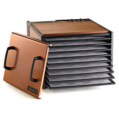 Excalibur Antique Copper 9 Tray Dehydrator with Timer
