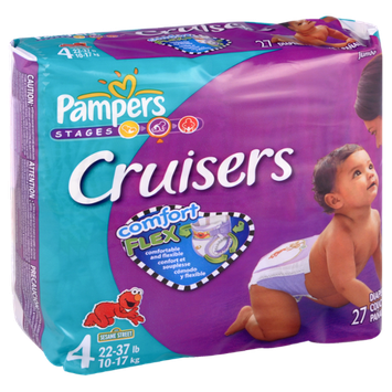 Pampers® Cruisers Diapers Jumbo Pack Size 4