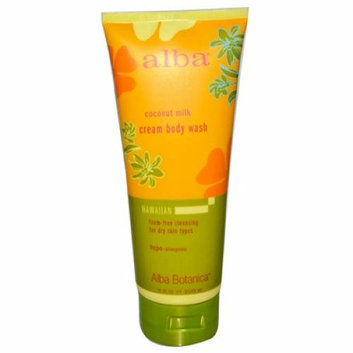 Alba Botanica Hawaiian Cream Body Wash Coconut Milk