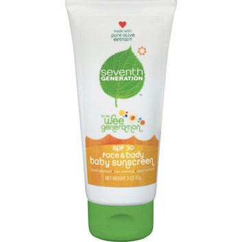 Seventh Generation Wee Generation Face & Body Baby Sunscreen