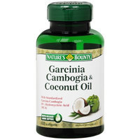 Nature's Bounty Garcinia Cambogia & Coconut Oil, Softgels