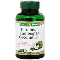 Nature's Bounty Garcinia Cambogia & Coconut Oil, Softgels