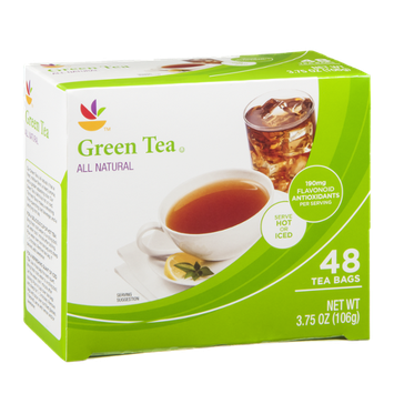 Ahold Green Tea Bags - 48 CT