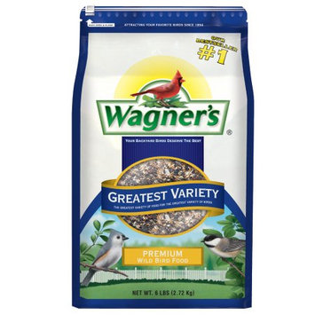 Wagner's Wildlife Food 6 lb. Greatest Variety Wild Bird Seed 12022