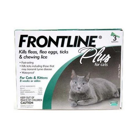 Frontline Plus For All Cats And Kittens 3 Month Supply
