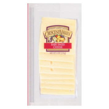 Crescent Valley Baby Swiss Cheese Shingle 8 oz