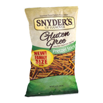 Snyder's Of Hanover Pretzel Sticks Family Size