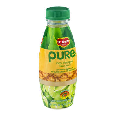 Del Monte® Pure Earth 100% Pineapple Lime Juice
