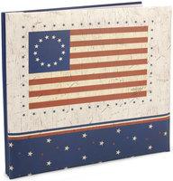 Mbi MBI American Flag Postbound Album, 12