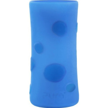 Pura Kiki Pebble Silicone Bottle Sleeve, Blue, Tall