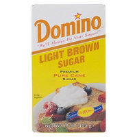 Dixie Crystals Domino Light Brown Sugar 1 Pound Box