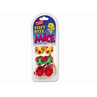 Booda Petmate Soft Bite Cat Toy, Small, 6-Pack, Sisal Mice