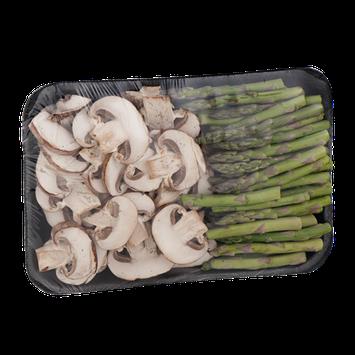 East Coast Fresh Asparagus & Cremini Mushrooms