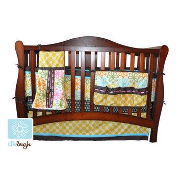 Divina DK Leigh Vintage Floral 10 Piece Boutique Crib Bedding Set