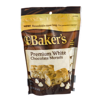 Baker's Premium White Chocolate Morsels