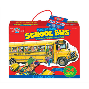 T.s. Shure T.S. Shure Big Yellow School Bus Jumbo Floor Puzzle
