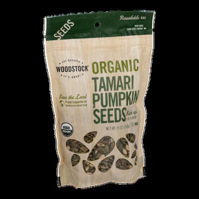 Woodstock Organic Tamari Pumpkin Seeds