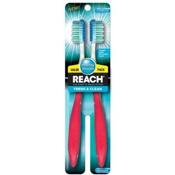 REACH® Fresh & Clean Medium Bristle Toothbrush
