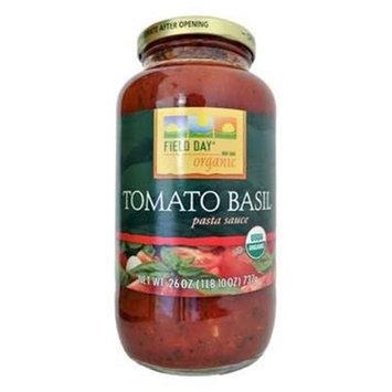 Woodstock Farms Natural Sea, Tomato Basil, 26.00 OZ (Pack of 12)