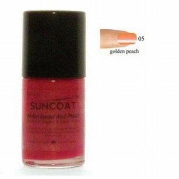 Golden Peach Nail Polish - Water Based Nail Polish, 0.5 oz,(Suncoat)