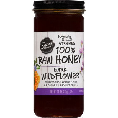 Sam's Choice Dark Wildflower 100% Raw Honey, 11 oz