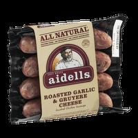 Chef Bruce Aidells All Natural Smoked Chicken Sausage Roasted Garlic & Gruyere Cheese
