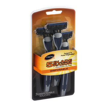 CareOne 5 Blade Disposable Razors - 3 CT
