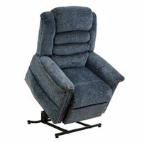 Quest Breeze Lift Chair, Ash Blue, 1 ea