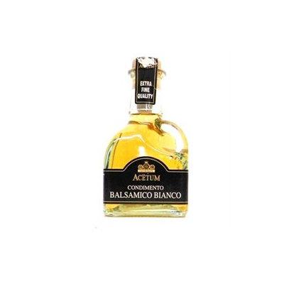 Acetum White Balsamic Vinegar Condiment Cruet 8.45 oz