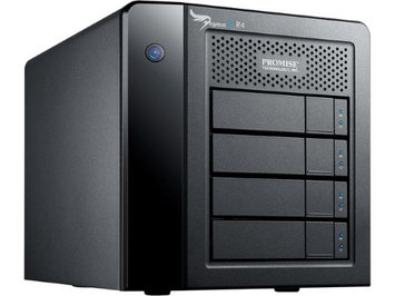 Promise Technology Promise Pegasus2 R4 DAS Array - 4 x HDD Supported - 4 x HDD Installed - 12TB Installed HDD Capacity - Serial ATA Controller - 4 x Total Bays - Serial ATA - Thunderbolt 2 Desktop
