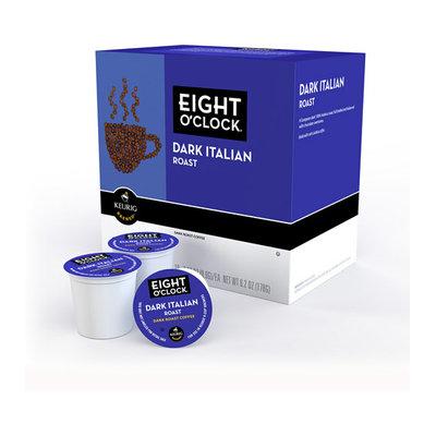 Green Mountain Eight O'Clock Dark Italian Roast K-Cups Coffee