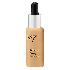 Boots No7 Airbrush Away Foundation, Honey, 1 oz