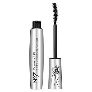 Boots No7 Dramatic Lift Mascara, Black, .25 oz