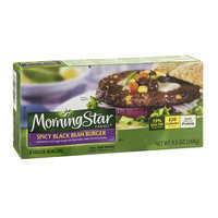 MorningStar Farms Veggie Burgers Spicy Black Bean - 4 CT
