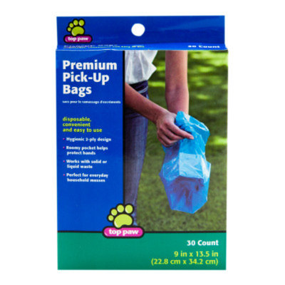 Top PawA Premium Pick-Up Bags
