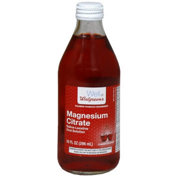 Walgreens Magnesium Citrate Saline Laxative Oral Solution