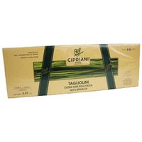 Cipriani Food Spinach Tagliolini Extra Thin Egg Pasta with Spinach 8.82 oz