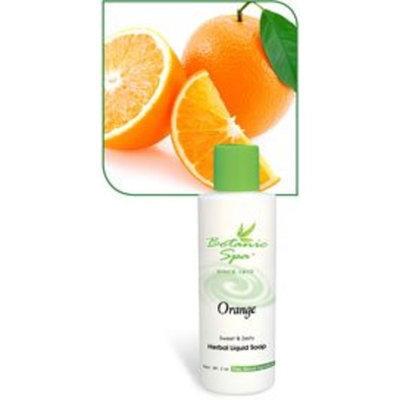 Botanic Choice Orange Liquid Herbal Soap 2 oz