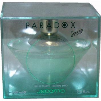 Jacomo Paradox Green Eau de Toilette Spray, 3.4 fl oz
