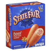 Sara Lee State Fair Beef CornDogs 12 ct