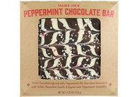Trader Joes Peppermint Chocolate Bar