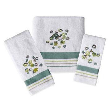 Saturday Knight, Ltd. Flower Bed Bath Towel (White)