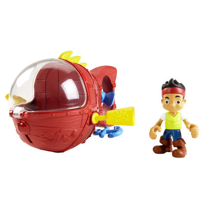 Fisher Price Fisher-Price Disney Jake and the Never Land Pirates Jake's Never Sea Mini-Sub